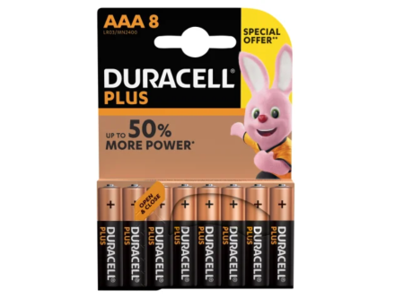 Duracell AAA Special Offer Battery Pack Of 8