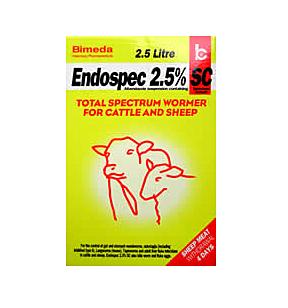 Endospec 2.5% 5 Litre