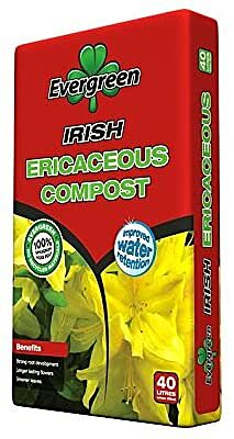 Evergreen Ericaceous Compost 40 Ltr