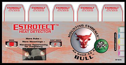 Dairymac Estrotect Heat Detector Red