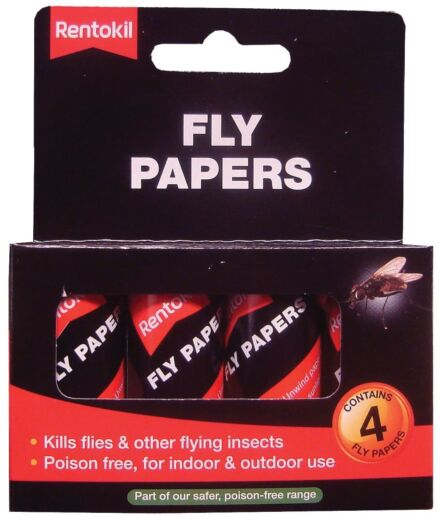 Fly Papers Pack 4