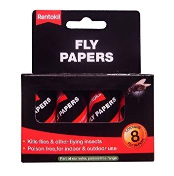 Fly Papers Pack 8