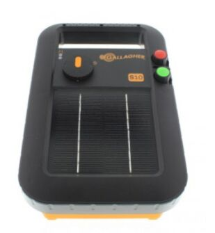 Gallagher S10 Solar Energiser + FREE Earth stake