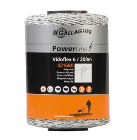 Gallagher Vidoflex Poly Wire 6 White