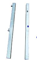 galvanized hang/slam post 2.4m long