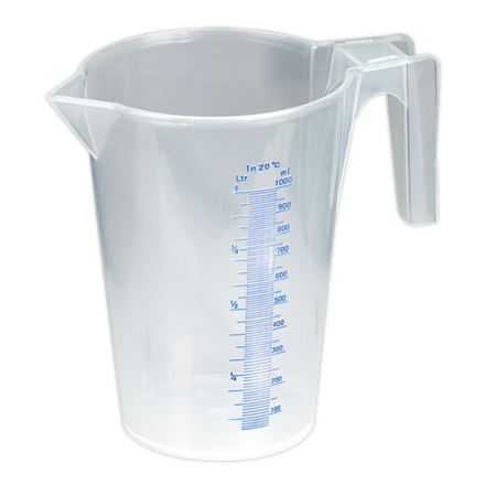 Sealey 1L Translucent Measuring Jug