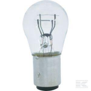 Kramp Light Bulb Conventional Sphere S25 12V 21W/5W BAY15d