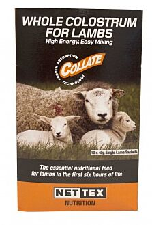 Nettex Whole Colostrum for Lambs x 10 Sachets