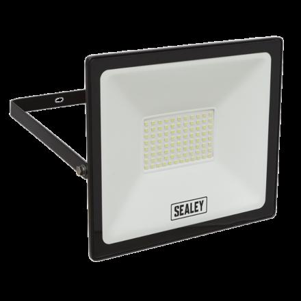 Sealey 70W SMD LED Extra Slim Floodlight with Wall Bracket
