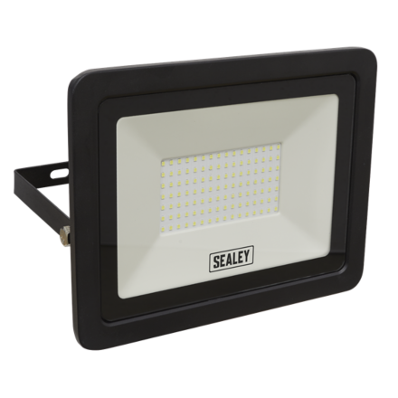 Sealey 100W SMD LED Extra Slim Floodlight with Wall Bracket