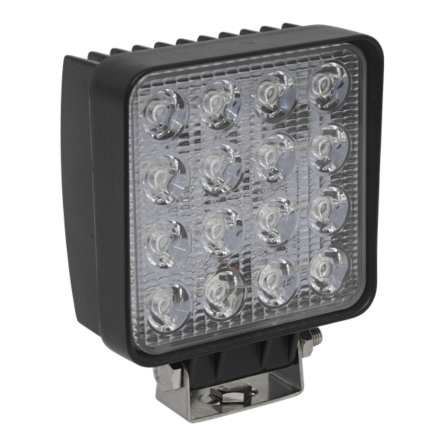 Sealey 48W LED Square Work Light with Mounting Bracket