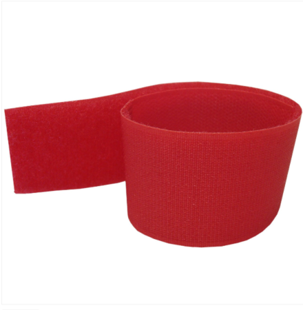 Dairy Spares Leg Identification Bands Velcro Red
