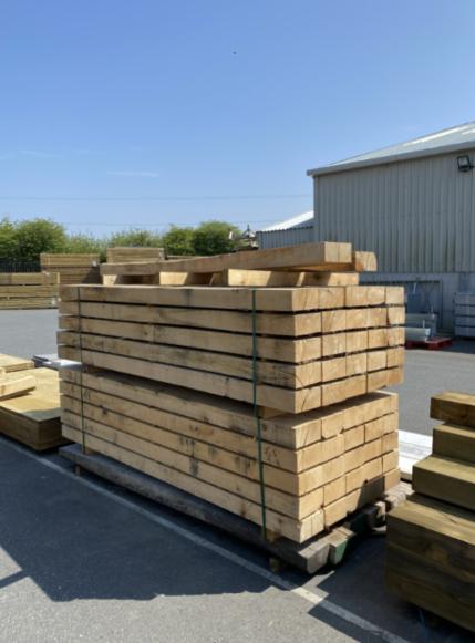 Oak Sleepers 2.4m X 100 X 200