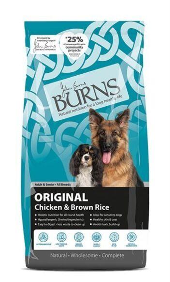 Burns Adult Chicken & Brown Rice 12KG