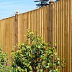 Grange Featheredge panel 1.83x1.8m golden brown