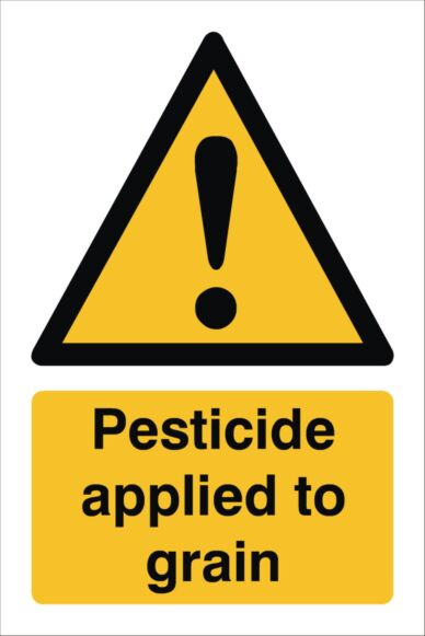 Raymac Pesticide Applied Sign