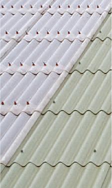Profile 6 Fibre Cement sheet natural grey