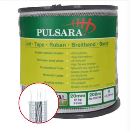 Pulsara Tape 20mm x 200m