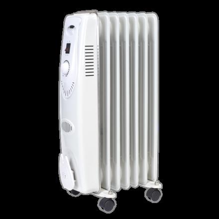 Sealey 1500W 7 Element Oil-Filled Radiator