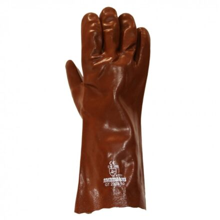 Red PVC Lightweight 14″ Hurricane Gauntlet glove