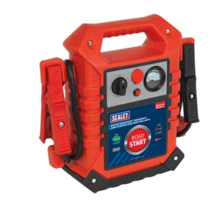 Sealey RoadStart® Emergency Jump Starter 12/24V 3000/1500 Peak Amps