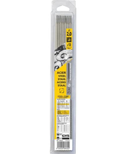 GYS Rutile Welding Rod 2.0x350mm 13x
