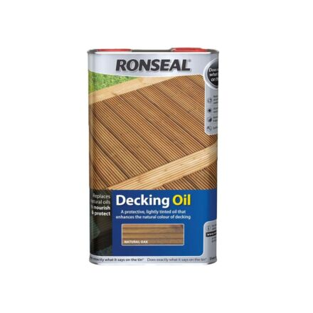 Ronseal Decking Oil Natural 5L