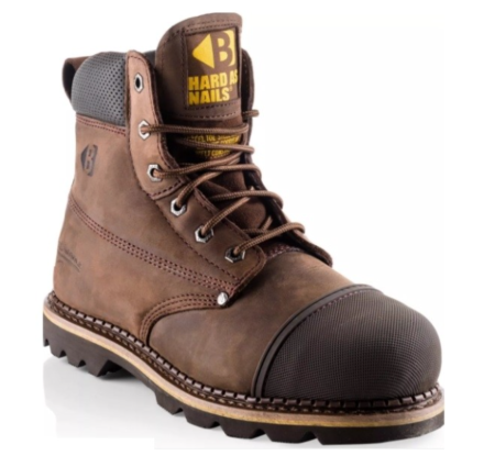 Buckler Boot Safety Lace Boot Chocolate