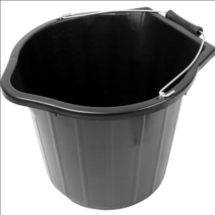Scooper Bucket Black