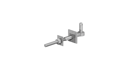 """Birkdale Screw Crook Galv 13 x 3/4"""" with washer"""