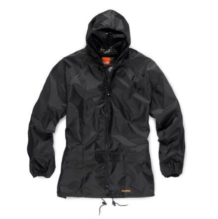 Scruffs Two Piece Rainsuit Black