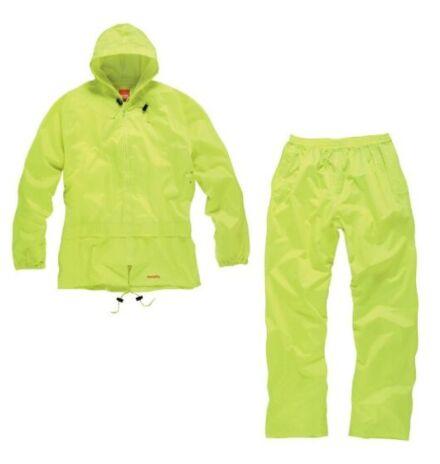 Scruffs Two Piece Rainsuit Yellow