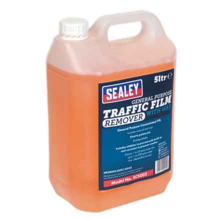 Sealey 5L Concentrated General Purpose TFR Detergent with Wax