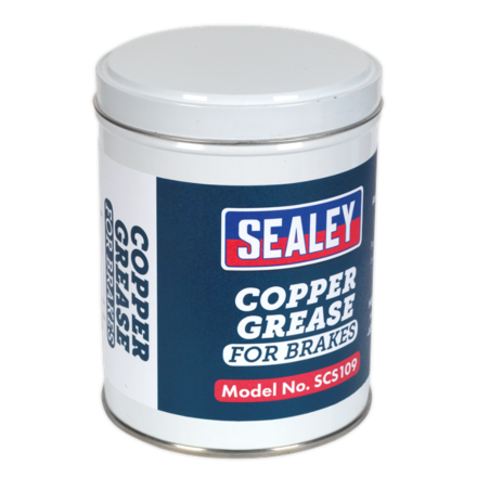 Sealey 500g Copper Grease Tin