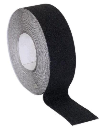 SEALEY Anti-Slip Tape Self-Adhesive Black 50mm x 18m