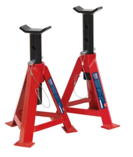 SEALEY Axle Stands (Pair) 5tonne Capacity per Stand