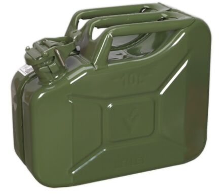 SEALEY Jerry Can 10ltr - Green