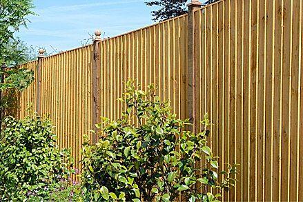 Grange Featheredge Panel 1.5m Golden Brown