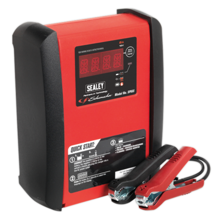 Sealey Schumacher® 6A 12V Intelligent Battery Charger