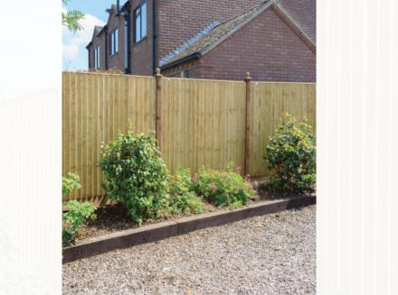 Grange Featheredge Panel Green 0.9m