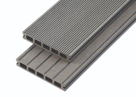 4M COMPOSITE DECK BOARD 150X25 STONE GREY