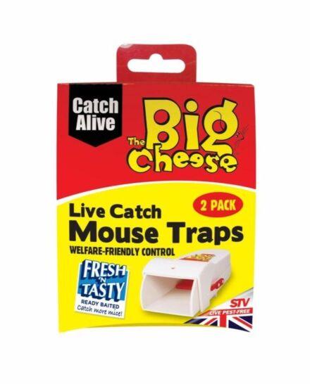 The Big Cheese STV Live Catch Trap Twin