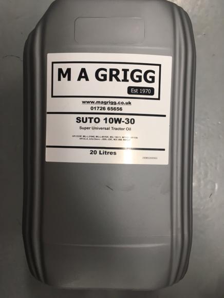GRIGG SUPER UNIVERSAL OIL 10W / 30 20L