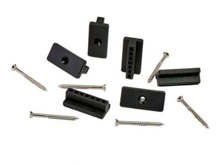 DECK FIXINGS T-CLIPS+M4X45 SCREW
