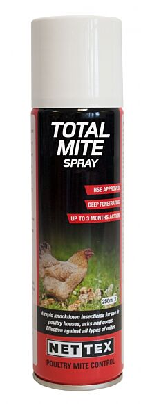 Nettex Total Mite Kill Aerosol 500ml