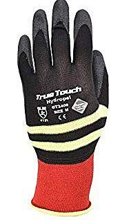 TrueTouch Black work glove GT2400 large