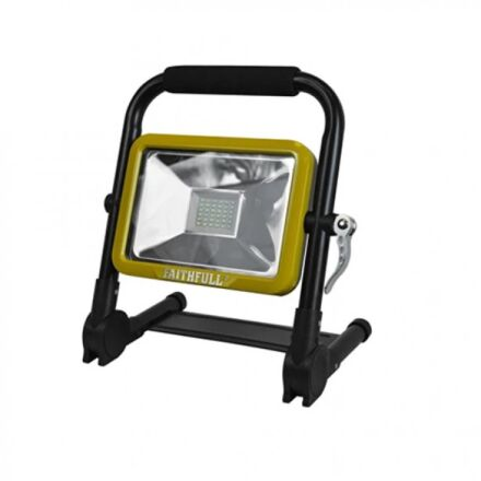 Faithfull SMD Folding Rechargeable Work Light 20W 1800 Lumen