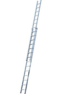 Youngman 570114 7.43m 2 Section Extension Ladder