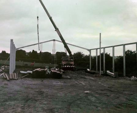 Agri shop construction