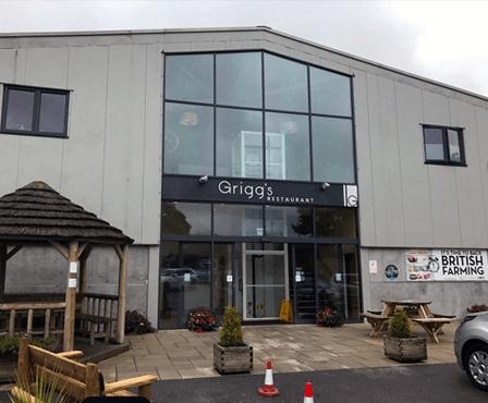 Griggs Restaurant Entrance